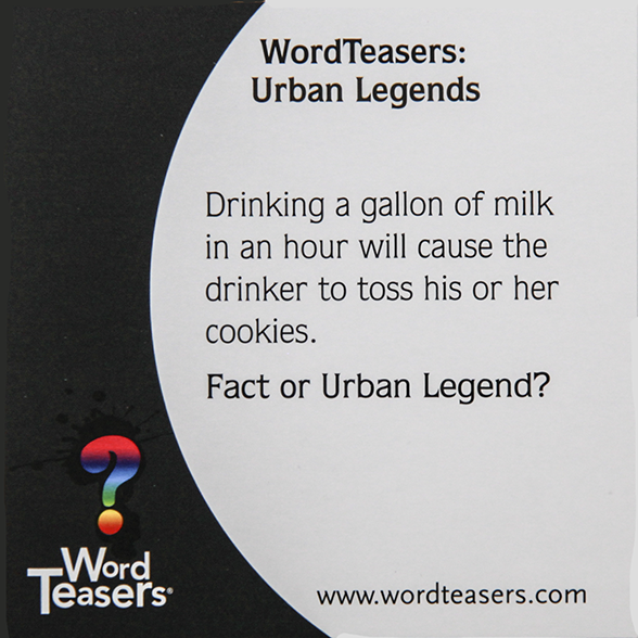 Urban Legend about Milk