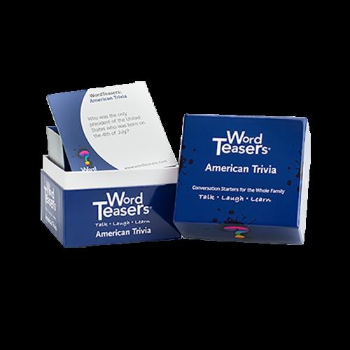 American Trivia Card Games