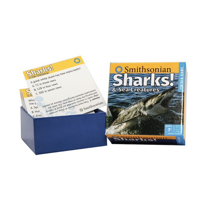 Shark trivia cards