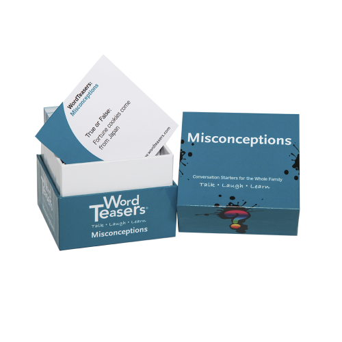 Misconceptions card game