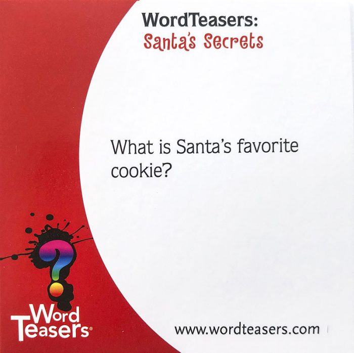 Santa's Favorite Cookie front