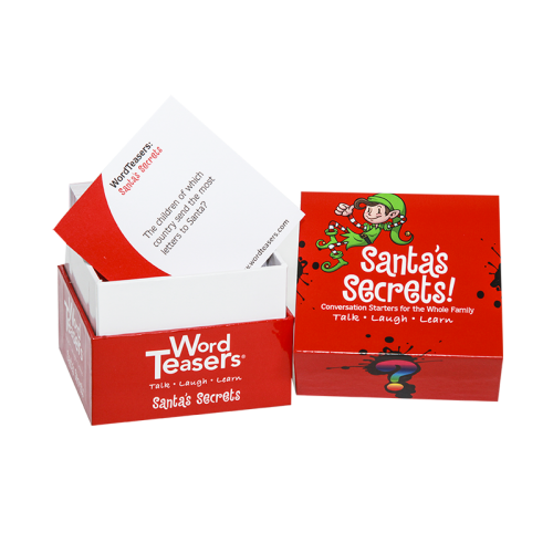 Santa's Secrets card game