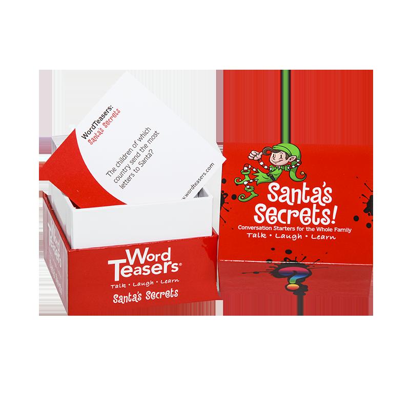 Santa's Secrets card game